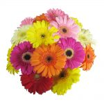 Mean what you say, with a beautiful bunch of flowers…